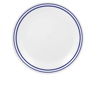 Corelle Breathtaking Blue Beads Luncheon Plate COCOLBlueBeadsLunchPlate-31