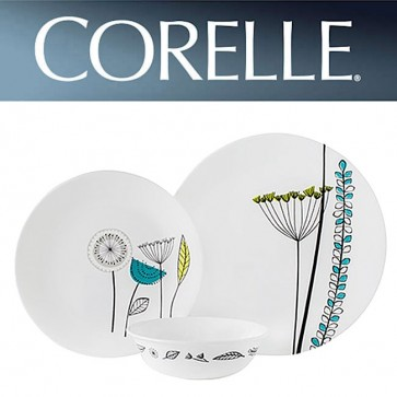 Corelle Abstract Meadow 12 Piece Dinner Set COR-ABSTRACT-MEADOW-16PC-31