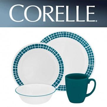 Corelle Aqua Tiles 16 Piece Dinner Set COR-AQUA-TILES-16PC-31