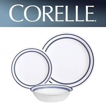 Corelle Classic Cafe Blue 12 piece Dinner Set COCOLCCB12pcCafeBlue-30