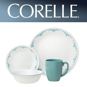 Corelle Garden Lace 16 Piece Dinner Set COR-GARDEN-LACE-16PC-20