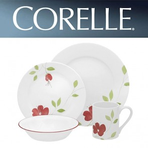 Corelle Garden Paradise 16 Piece Wide Rim Dinner Set COR-GARDEN-PARADISE-16PC-20