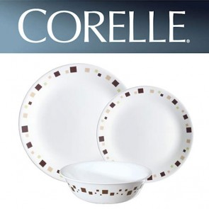 Corelle Geometric 12pc Dinner Set COR-GEOMETRIC-12PC-20