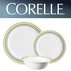 Corelle Garden Sketch Bands 12pc Dinner Set COR-GARDEN-SKETCH-BANDS-12PC-20