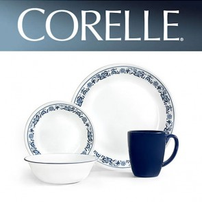 Corelle Old Blue Town 16 Piece Dinner Set COR-OLD-TOWN-BLUE-16PC-20