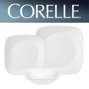 Corelle Pure White Square 18pc Dinner Set COCOSRPureWhite18pcDinnerSet-20