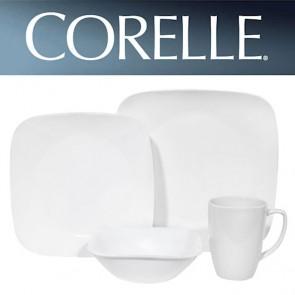 Corelle Pure White Square 16pc Dinner Set COCOSRPureWhite16pcDinnerSet-20