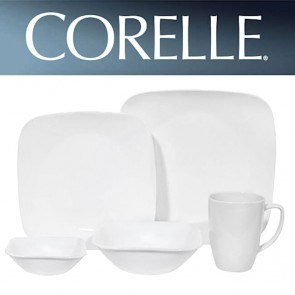 Corelle Pure White Square 30pc Dinner Set COCOSRPureWhite30pcDinnerSet-20