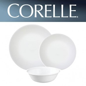 Corelle Winter Frost White 12 Piece Dinner Set COCOLWWFW12pcDinnerSet-20