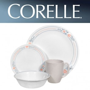 Corelle Apricot Grove 16pc Dinner Set with Stoneware Mug COR-APRICOT-GROVE-16PC-20