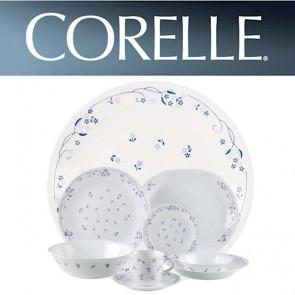 Corelle Provincial Blue 76 Piece Floral Design Dinner Set CORELLE-PROVINCIAL-BLUE-76-DINNER-SET-20