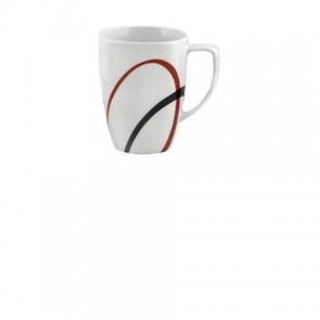 Corelle Fine Lines Square Porcelain Mug COCOSRFLMug-20