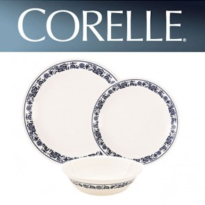 Corelle Old Blue Town 18 Piece Dinner Set COR-OLD-TOWN-BLUE-18PC-20
