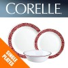 Corelle Bandhani Single: Plates, Bowls, Dishes, Side Plates
